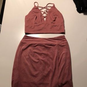 Blush Skirts - Pink Matching Set